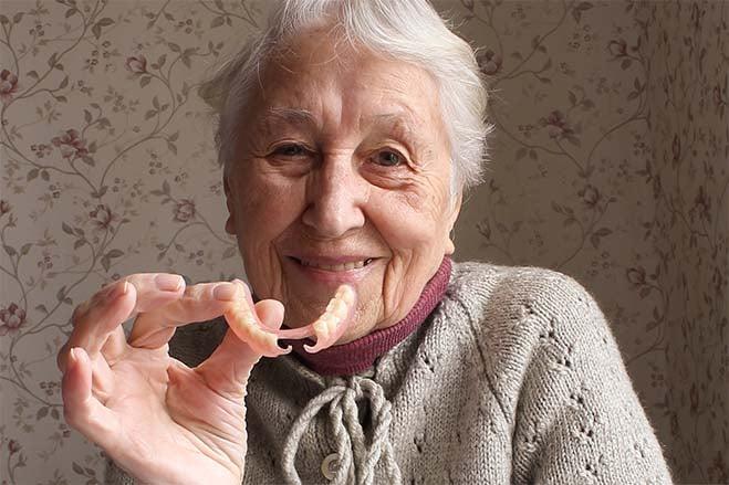 flexible-dentures-dental-care-oral-health-old-woman-smile