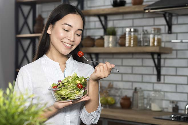 improve-bite-alignment-beautiful-girl-happy-smile-joy-make-salad-healthy-oral-health-dental-care