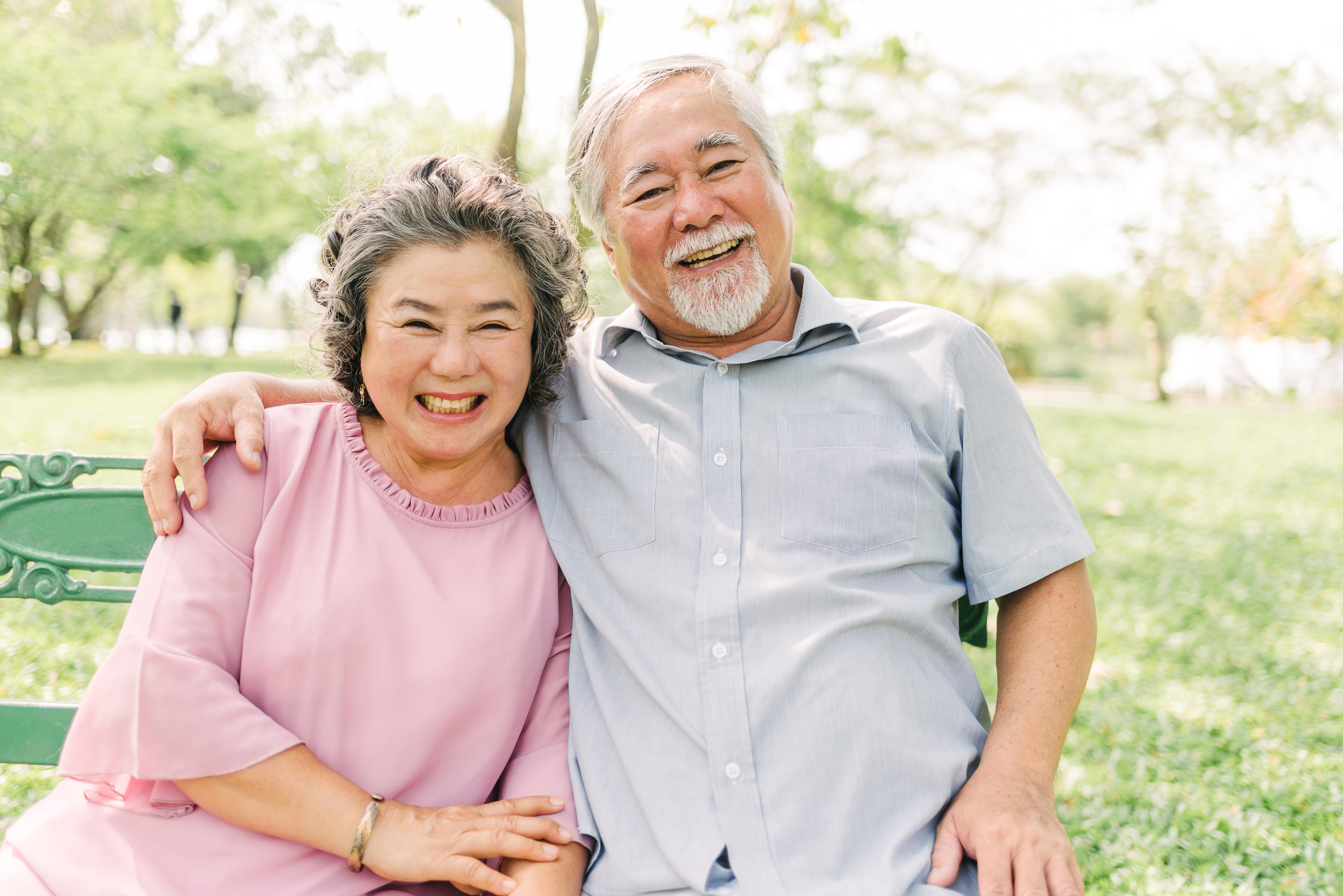 Patients smiling image