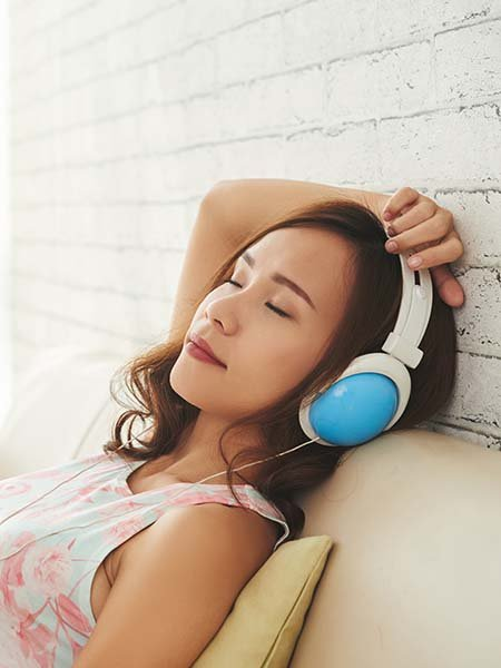 relaxation-techniques-music-sleeping-enjoy-lady-oral-health-check-up-dental-care
